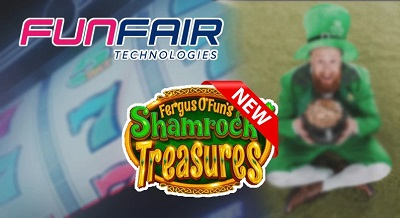 Funfair Technologies – Shamrock Treasures slot gaming platform