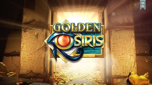 New Golden Osiris video slot from Play'n Go